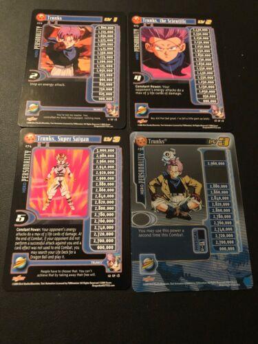 Baby Saga!! Dragon Ball Z GT CCG Trunks Lvl 1-3 W//HT Lvl 3 Unlimited!