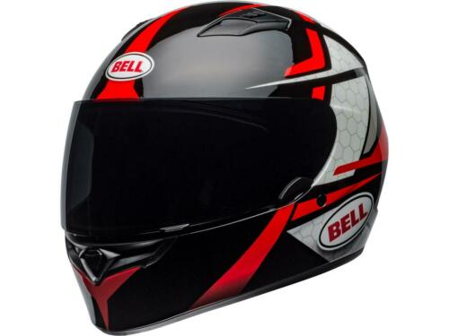 Casque intégral moto BELL Qualifier Flare Gloss Black//Red