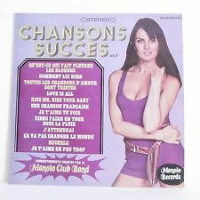 "33T CHANSONS SUCCES Vol 4 Vinyle LP 12"" MANOLO CLUB BAND Pin Up MR PICKWICK 025"