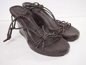 Women S Antonio Melani Brown Wedge Shoes Heels Size 10 B