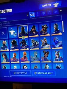 Mako Glider Fortnite Code Epic Temporada 1 Og Fortnite Con Black Knight Mako Planeador Ebay