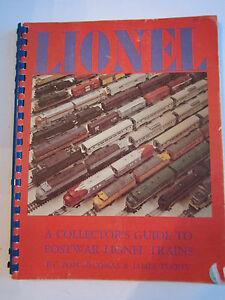 1974-LIONEL-A-COLLECTOR-039-S-GUIDE-TO-POSTWAR-LIONEL-TRAINS-MAGAZINE-TUB-NN