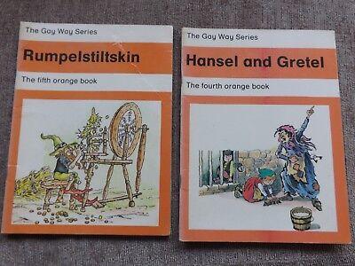 The Gay Way Series Books Rumpelstiltskin & Hansel And Gretel Orange School Books