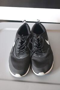 Details about Women's Nike Air Max Thea Black White Wolf Grey Anthracite 599409 007 Size 10