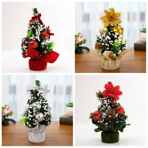 Handcraft-Desk-Table-Decor-Christmas-Tree-Flowers-Home-Ornament-Xmas-Gift