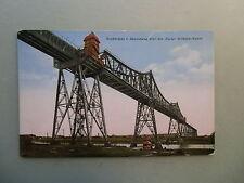 Ansichtskarte Rendsburg Hochbrücke Kaiser Wilhelm Kanal Brücke 1927