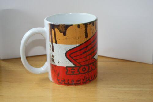 Mug Honda repsol pressent distressed oil vintage coffee cool retro