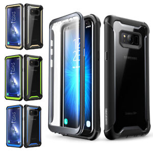 buy popular d4523 d1b86 Details about Samsung Galaxy S8 PLUS case i-Blason Ares Clear Bumper Cover  with Screen Protect