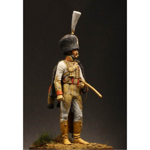 Atelier Maket Napoleonic Capt Manhes ADC to Murat 75mm Model Unpainted Metal Kit