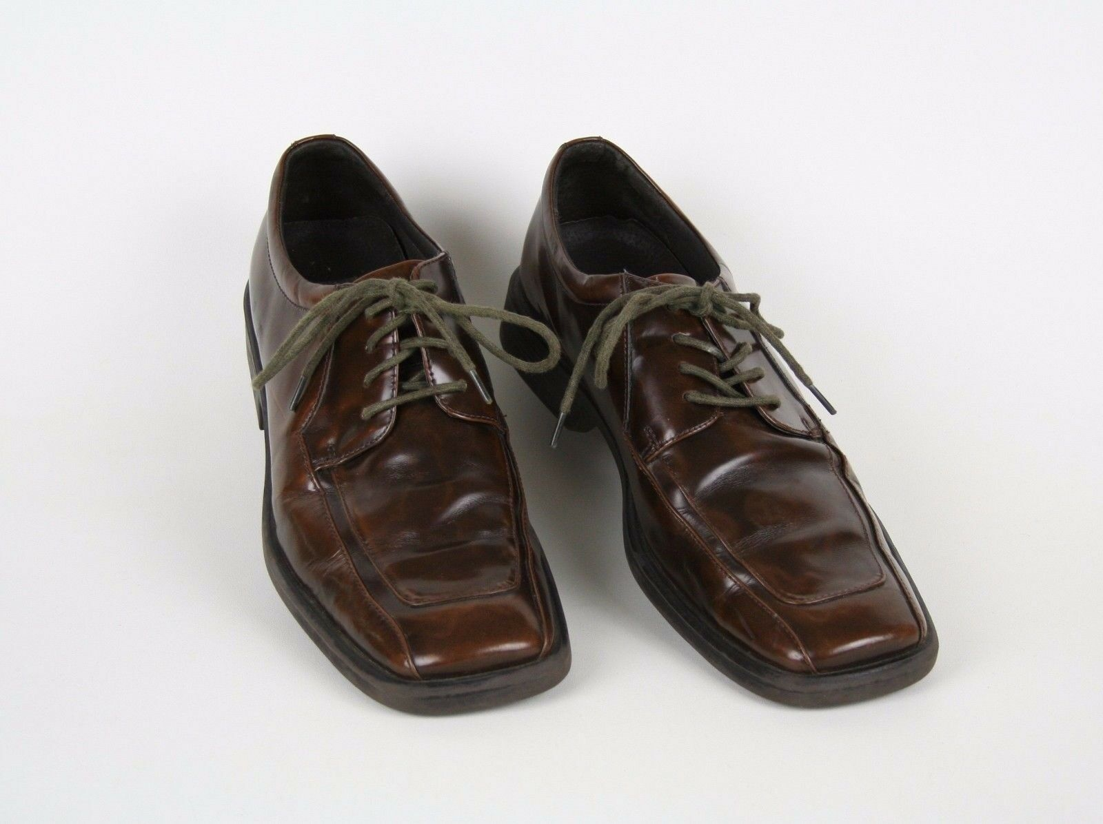 af33243187a ... KENNETH COLE REACTION Mens Brown Casual Dress Oxford Shoes Shoes Shoes  size 9.5 M 095134 ...