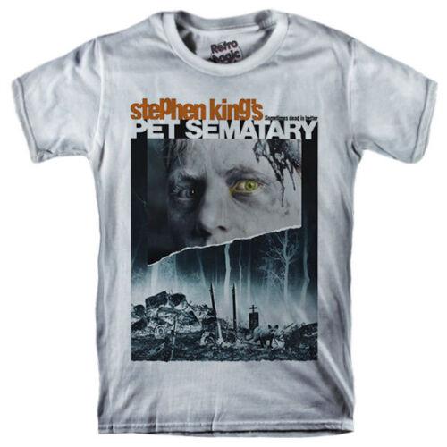 PET SEMATARY T-shirt Stephen King Ramones 1989 horror movie