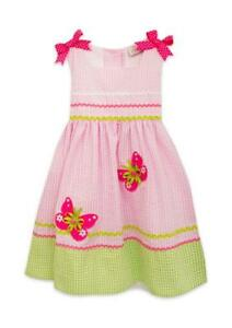 8b689355c Image is loading RARE-EDITIONS-Baby-Girl-24M-Butterfly-Seersucker-Dress-