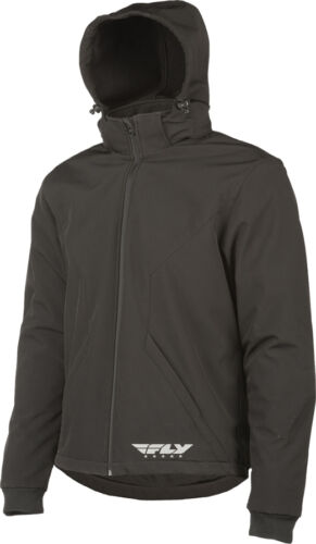 Choose Size FLY RACING Armored Tech Windproof Motorcycle Hoody Black