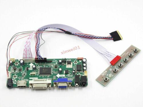 Kit for HSD121PHW1-A01 HDMI+DVI+VGA LCD LED screen Controller Board Driver