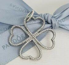 abdcbb3b5 Authentic Pandora Petals of Love Shimmering CZ Flower Pendant 390381CZ NEW