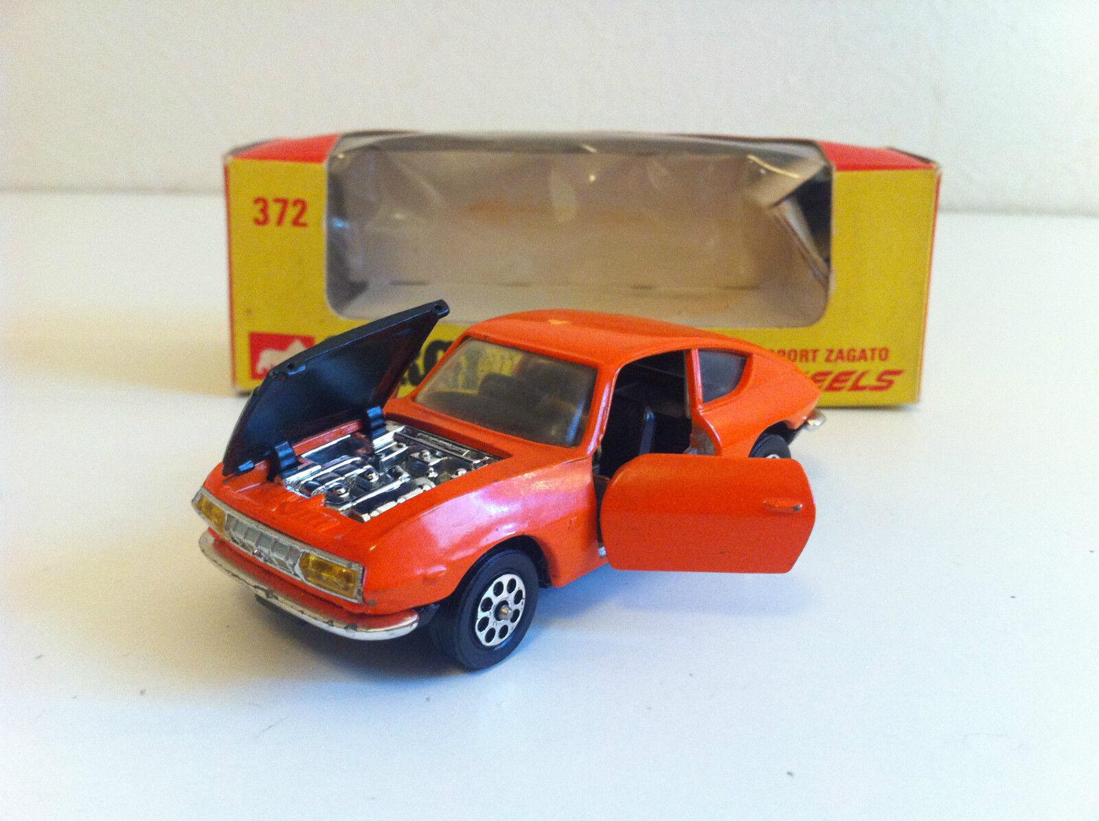 alta calidad Corgi Juguetes Juguetes Juguetes - 372 - Lancia Fulvia Sport Zagato en boîte d'origine  compra limitada