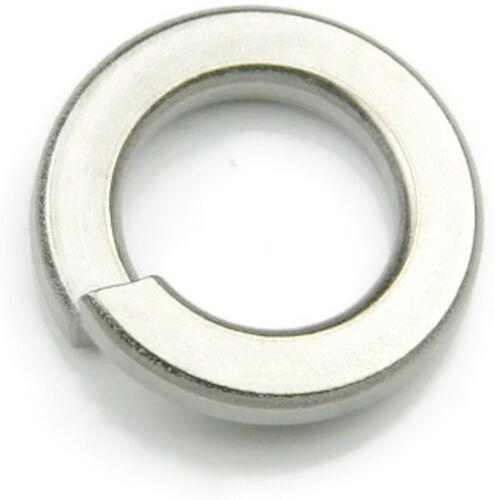 316 Stainless Steel Lock Washer Medium 5//16 Qty 100