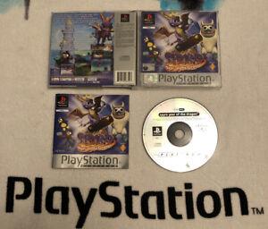 Sony-ps1-Spiel-Spyro-3-Jahr-des-Drachen-ps2-ps3-Sony-Playstation-1-komplett