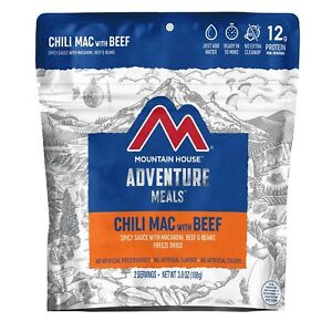 Mountain House Chili Mac with Beef Freeze Dried Backpacking & Camping Food