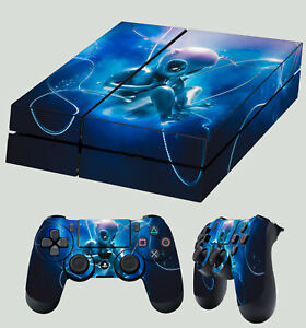 Faceplates, Decals & Stickers Ps4 Pro Skin Cyberpunk Beautiful Android Humanoid Sticker 2 X Pad Decal Vinyl