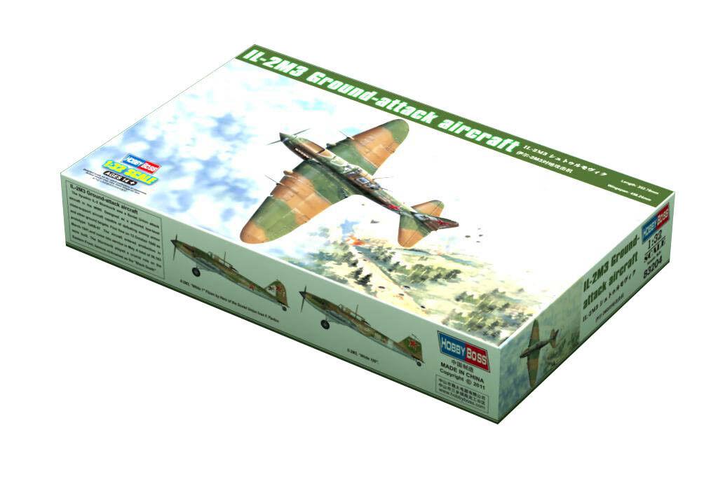 Hobby Boss 3483204 IL-2 M3 Sturmovik 1 32 32 32 Flugzeug Modell Bausatz Modellbau 3da444