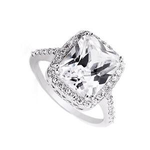Certifie-GIA-Anneau-Fiancailles-Diamant-4-Carat-Naturel-Coussin-Forme-18k-or-VS1