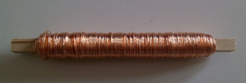 0,08€//m Lackdraht 0,5mm 50m Bindedraht Basteldraht Wickeldraht Draht Floristik