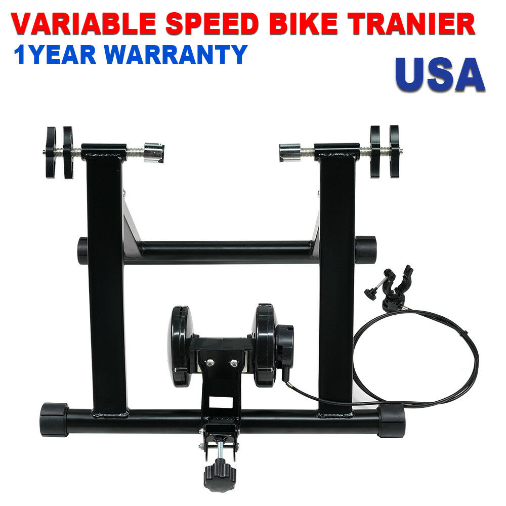 Outdoor Exercise Cycling Magnetic Resistance Bicycle Trainer Bike  Stand Steel  the cheapest