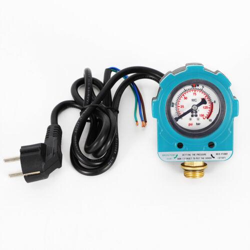 Pumpensteuerung Pumpe Druckschalter Hauswasserwerk Druckregler Pump 220V 10Bar