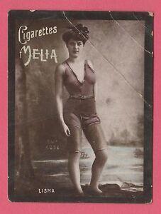 Cigarettes-Melia-Alger-Algeria-Tobacco-Card-Erotic-Subject-Tirage-H-6-Lisma