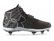 Details about  /Under Armour C1N Mid D Size 13 Football Cleats Shoes Black//White 1264317-001 NIB