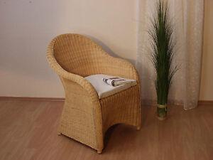 rattansessel inkl sitzkissen relaxsessel korbsessel loungesessel sessel rattan ebay. Black Bedroom Furniture Sets. Home Design Ideas
