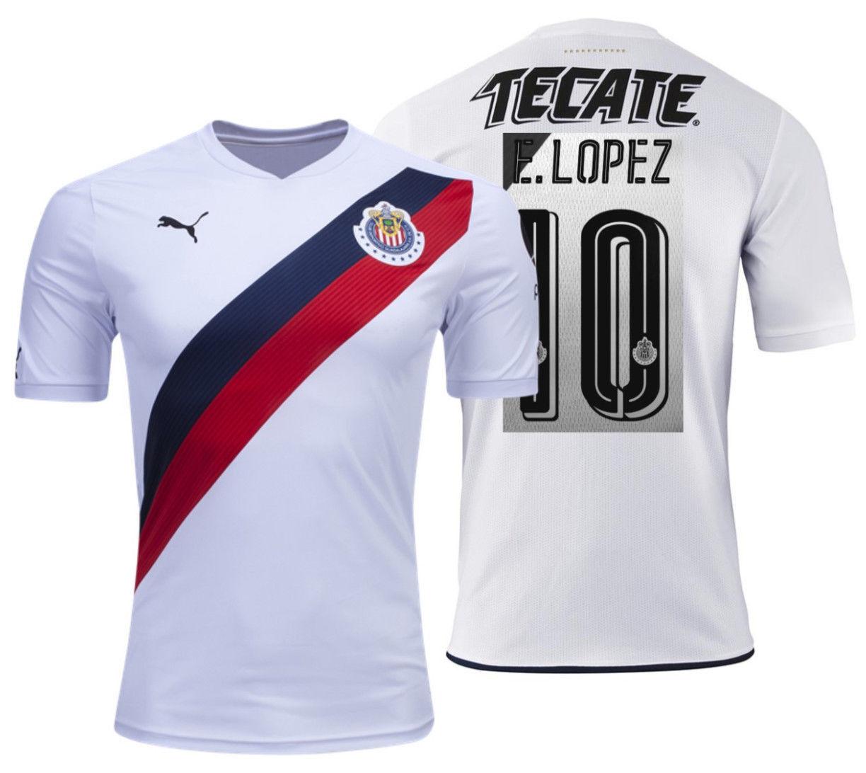 Puma Javier E. Lopez Chofis Chivas de Guadalajara Maillot Suite Maillot Guadalajara 2016/17 b260cb