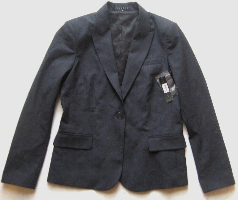 Theory señora chaqueta blazer don B talla us  12 UE 44 Indigo azul  alta calidad y envío rápido