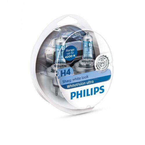 T10 Sharp White Look Set Leuchten Philips Whitevision Ultra 4200k 12v H4
