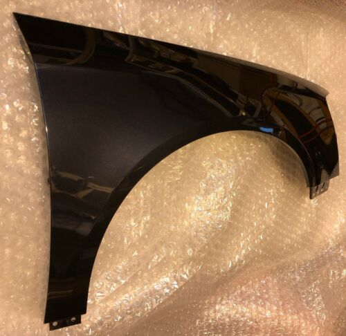 VOLKSWAGEN PASSAT 2005-2010 FRONT WING RIGHT SIDE O//S PAINTED LC9X 'DEEP BLACK'