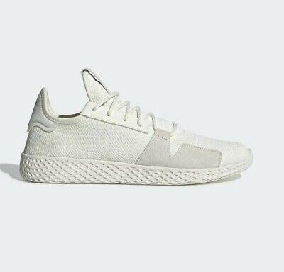 adidas Originals x Pharrell Williams Tennis HU V2 Trainers Off White DB3327   eBay