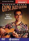 Learn to Play Django Style Gypsy Jazz 0073999867596 DVD Region 1