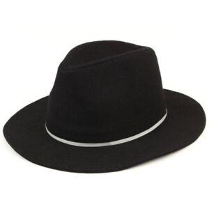 Sombrero-Fedora-Mujer-Borde-Ancho-Fieltro-de-Lana-Campana-Vintage-Sol-Panama