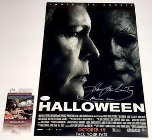 JAMES-JUDE-COURTNEY-Signed-2018-HALLOWEEN-11x17-Photo-Autograph-JSA-COA-PROOF