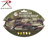 Rothco Woodland Camo 19 Moisture-wicking Tactical Airsoft Multi Head Wrap on sale