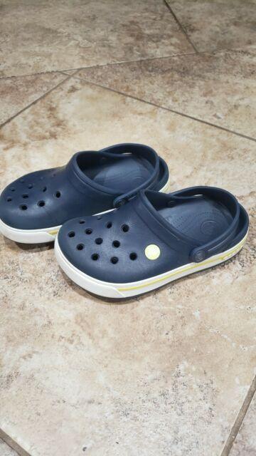 Unisex Kids Crocs Crocband Sandal Rubber Water Resistant Sea Shoes All Sizes