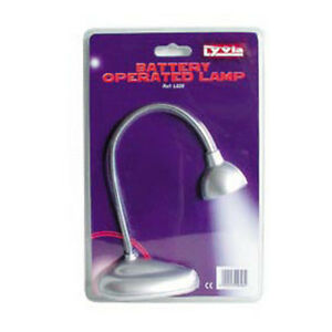 LED-FLEXIBLE-CLIP-ON-BOOK-READING-LAMP-BATTERY-OPERATED-PACK-OF-2