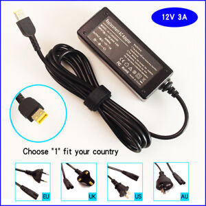 New-12V-3A-36W-AC-Adapter-Charger-Power-For-Lenovo-ThinkPad-10-helix-2-20CG-20CH