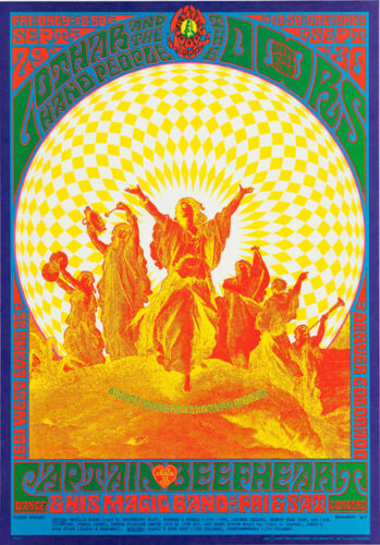 "The Doors Denver Concert Poster Replica 13 x 19/"" Photo Print"