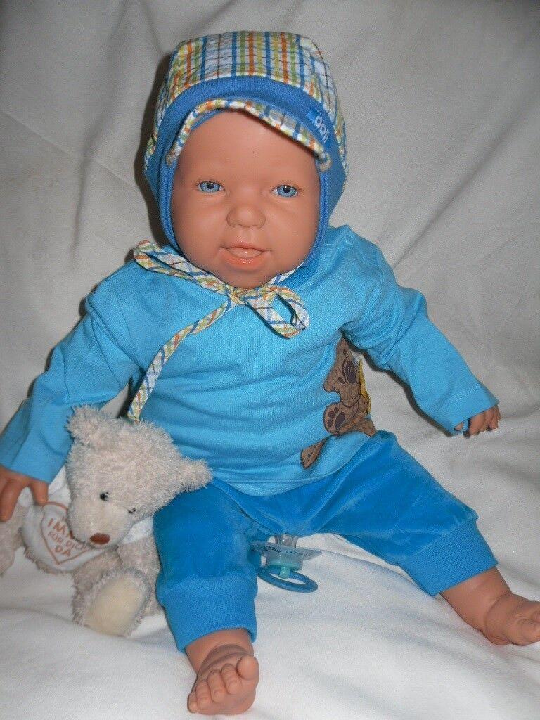 Traumbambolas bambino BAMBOLE Antonio Juan Boris 50  cm con flaconcino Bambola Bambini Bambola  fino al 50% di sconto