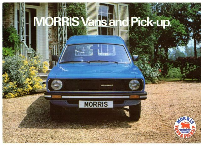 Morris Marina Van Pick Up 440 575 Uk Brochure For Sale Online Ebay