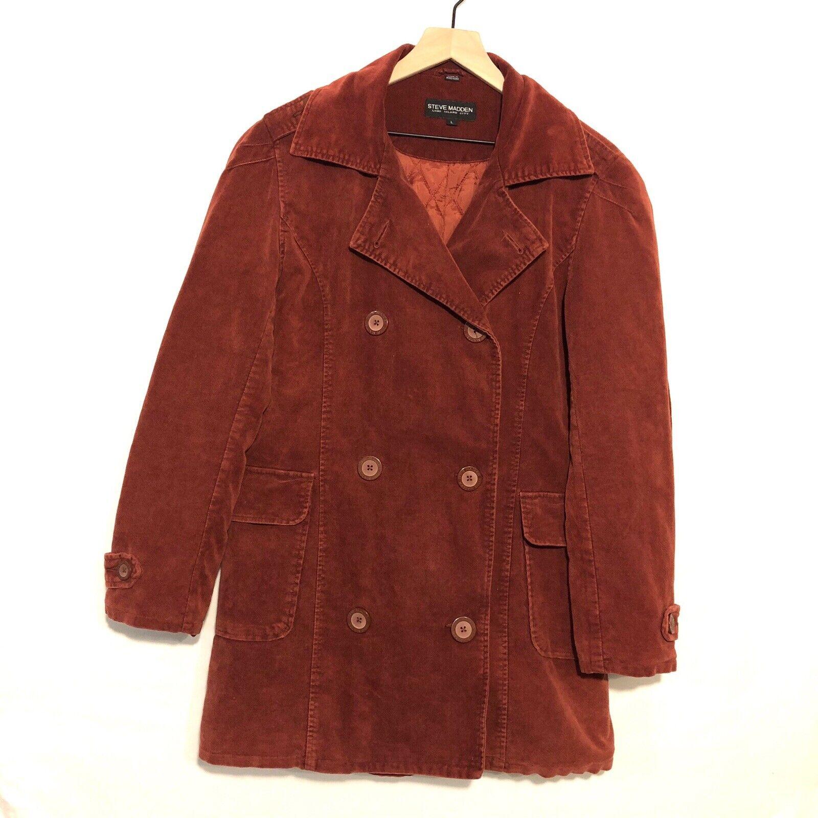 Vintage Steve Madden Corduroy Coat