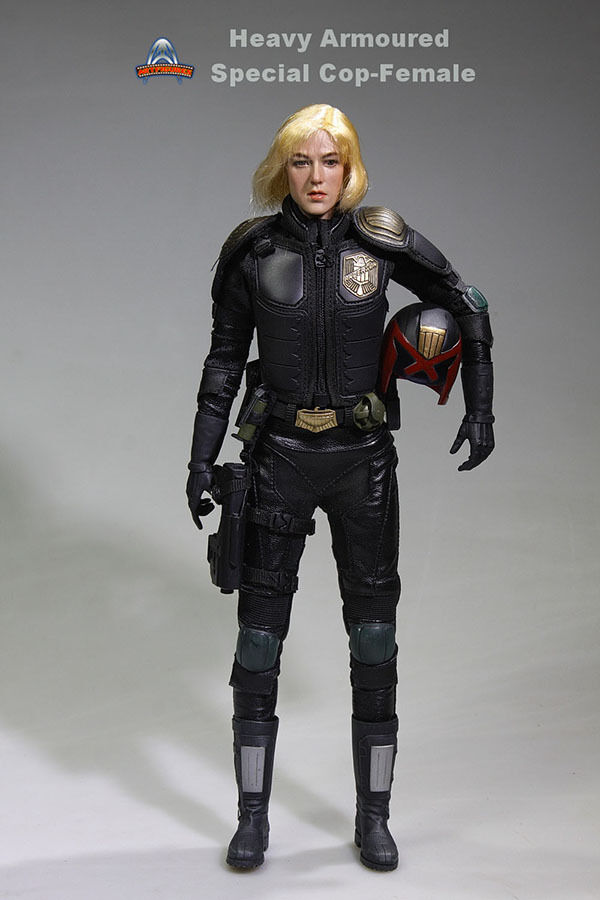 1/6 Art Figures AF-020 Heavy ArmoROT Special Cop-Female Action Figure Free Ship