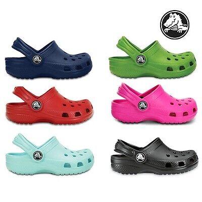 Zuecos Crocs Originales Clásicas de niños chicos chicas Sandalias libre y rápido envío